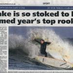 North Devon Journal - Lyndon Wake year's top rookie