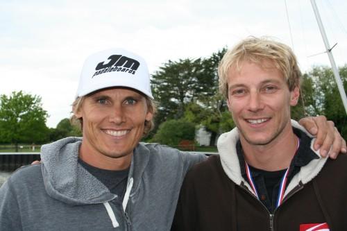 Jamie Mitchell and Ollie Shilston