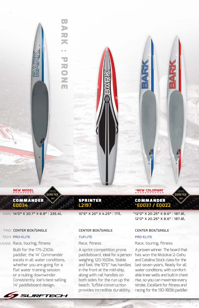 New Bark Prone Boards For 2014 Surf Commission Blogs