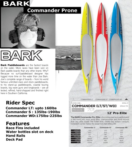 Commander Prone ad