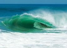 Example of hollow surf