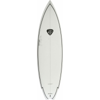 62 Spit Fire, White w/Black Deck PL TL - H3038