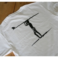 Robert August Icon TShirt White- XX Large