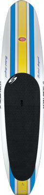 11'6'' What I Paddle ES2 -Blue stripes/Yellow Centre Blk P/line L1873