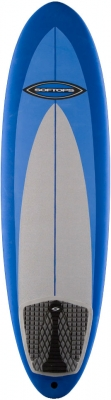 "5'6"" Softop Short, EVA Cool Gray, Blue, Dk Blue - SA001"