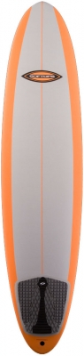 "7'6"" - Softop ASA EVA Cool Grey/Orange - SA005"
