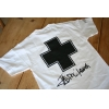 image of Surf Prescriptions T'Shirt  White - Medium fin
